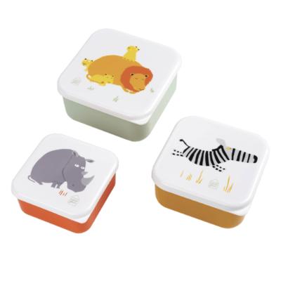 Set de 3 lunch box - La savane - Maison Petit Jour